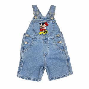 Vintage Disney Denim Overall Shorts Unisex 4/5